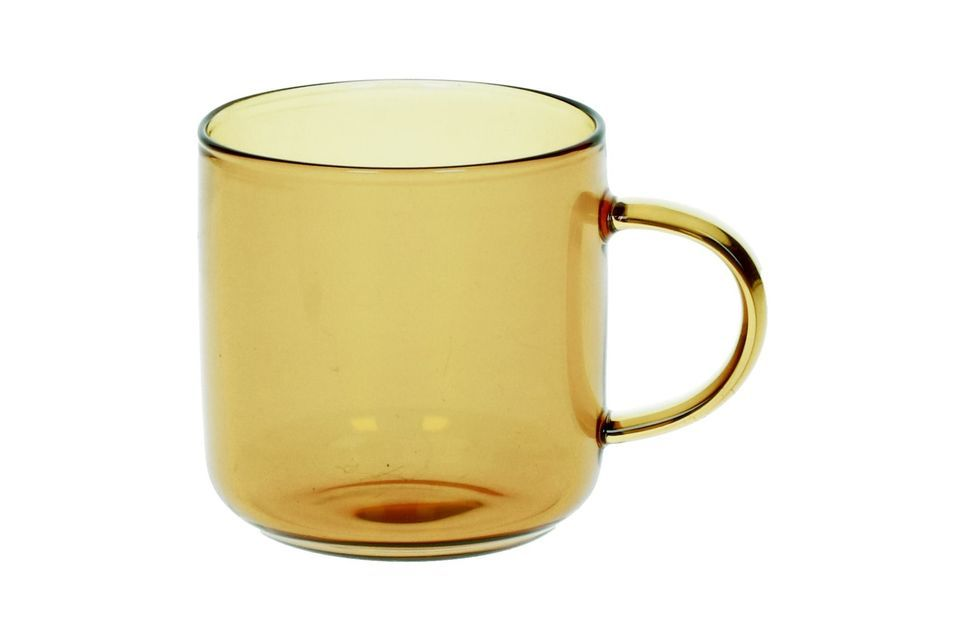 Caja 4 tazas de Espresso Lasi amarillo Pomax