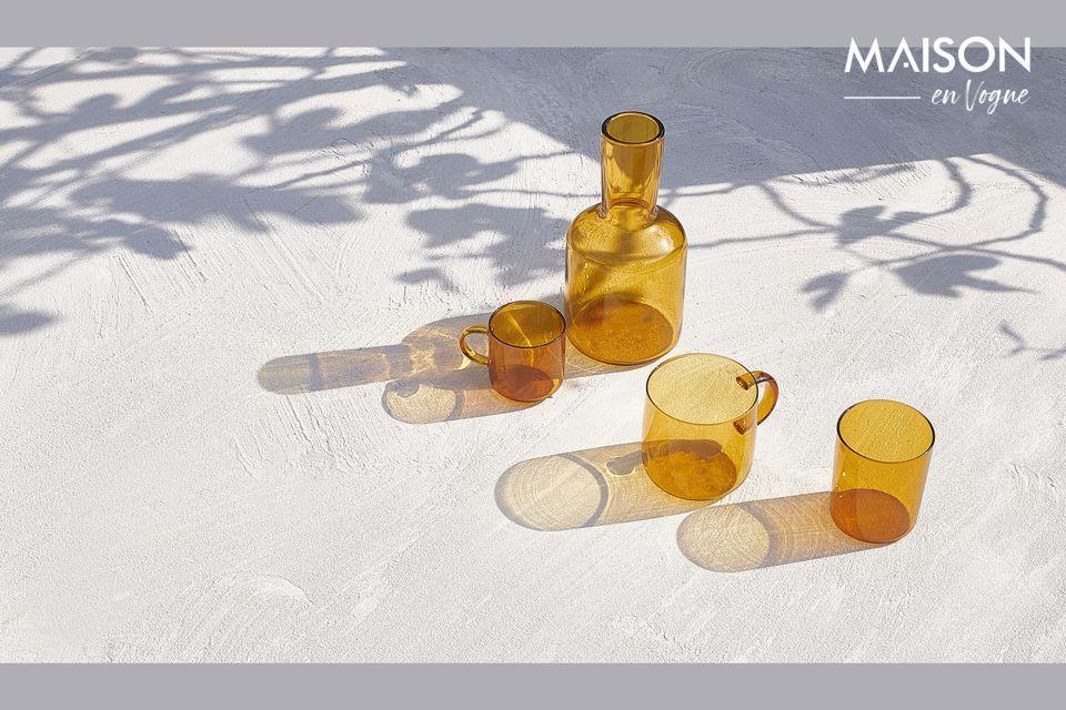 Dese el gusto de usar estas 4 hermosas y ultra resistentes copas Lassi