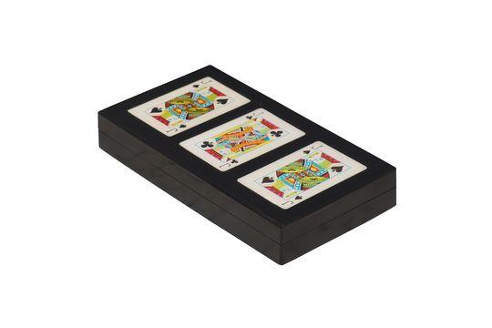 Caja colorida de 3 barajas de cartas Rezza Clipped