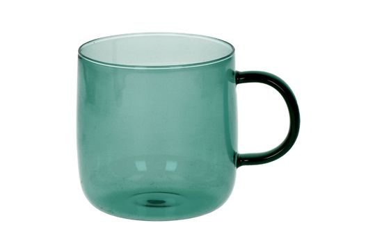 Caja de 4 vasos de vidrio de borosilicato Lasi Clipped