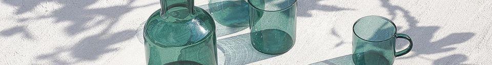 Descriptivo Materiales  Caja de 4 vasos de vidrio de borosilicato Lasi