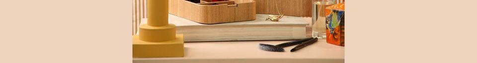Descriptivo Materiales  Caja de almacenamiento de madera Upie
