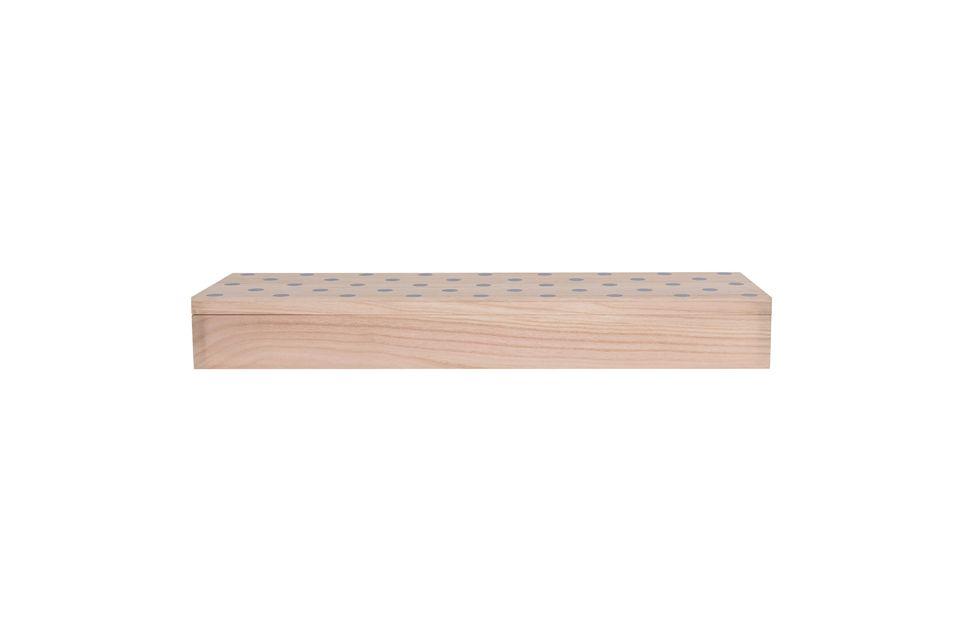 Fabricada con madera muy resistente de paulownia