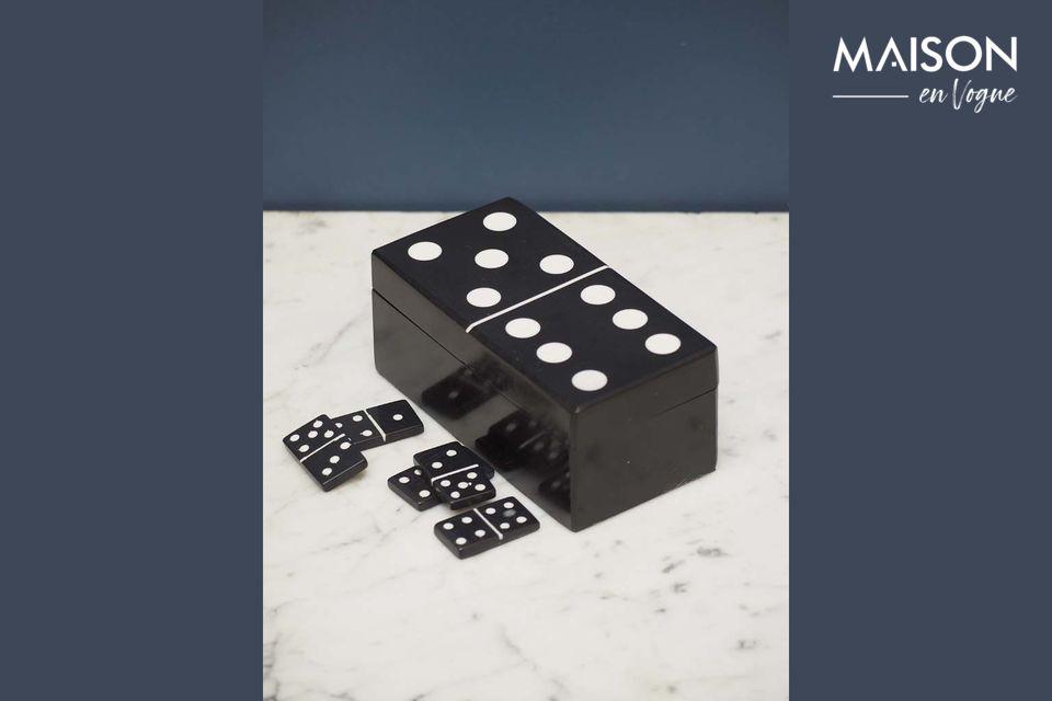 Caja de dominó negra Payns Chehoma