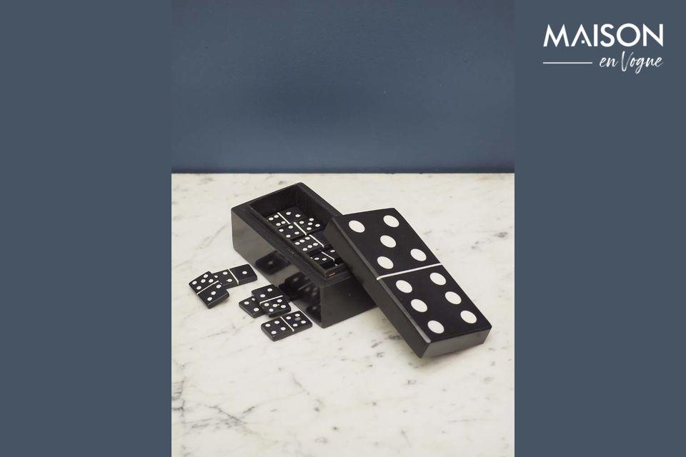 La caja de dominó, simple y original al mismo tiempo