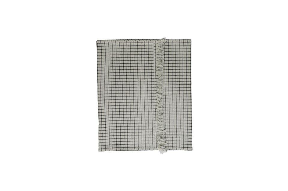 Hecho de algodón, el camino de mesa Checks & Stripes es extremadamente resistente