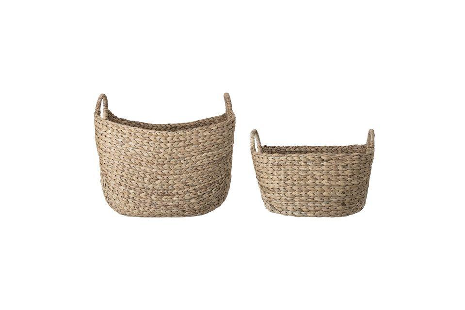 Este juego de cestas hechas a mano devolverá un lugar de honor a la artesanía en su casa
