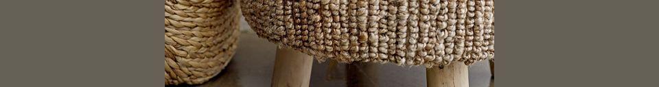 Descriptivo Materiales  Cesta de jacintos Buzy