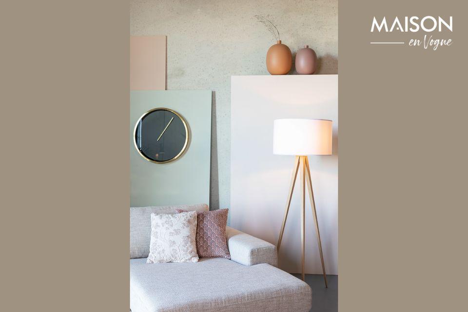 Muy decorativo, este accesorio se atreve a mostrar un contraste de los más modernos tonos de rosa