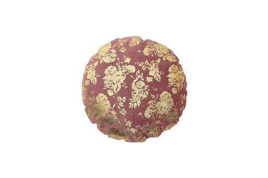 Cojín de algodón rosa Ferfay Clipped