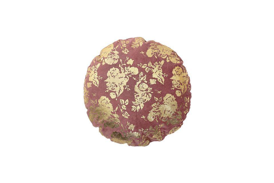 Cojín de algodón rosa Ferfay Bloomingville