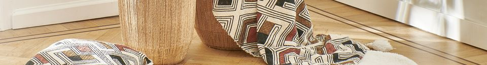Descriptivo Materiales  Cojín de algodón Toudou