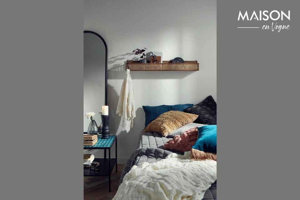 Gracias a su construcción 100% de lino, ponga la calidad en el corazón de su decoración interior