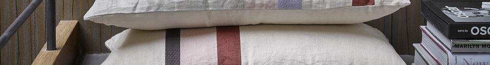 Descriptivo Materiales  Cojín de lino Vismes