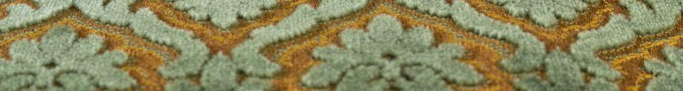 Descriptivo Materiales  Cojín Glory verde