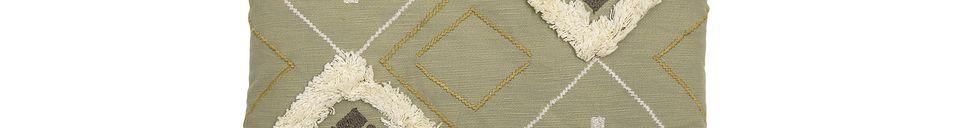 Descriptivo Materiales  Cojín Mazzola de algodón multicolor