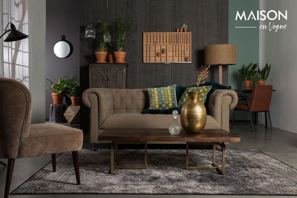 Se adaptará tanto a los interiores clásicos como a los contemporáneos