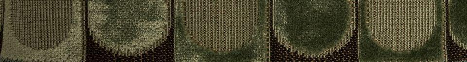 Descriptivo Materiales  Cojín Ottava Verde y Azul
