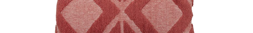 Descriptivo Materiales  Cojín rojo Dixmont