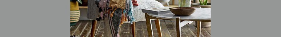 Descriptivo Materiales  Colcha de algodón Osches