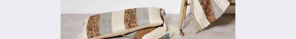 Descriptivo Materiales  Colcha de algodón Zahir
