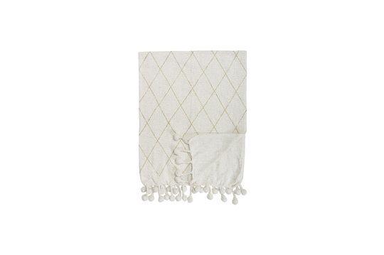 Colcha Laval de algodón blanco Clipped