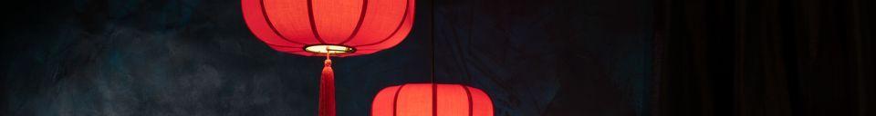 Descriptivo Materiales  Colgador rojo Suoni