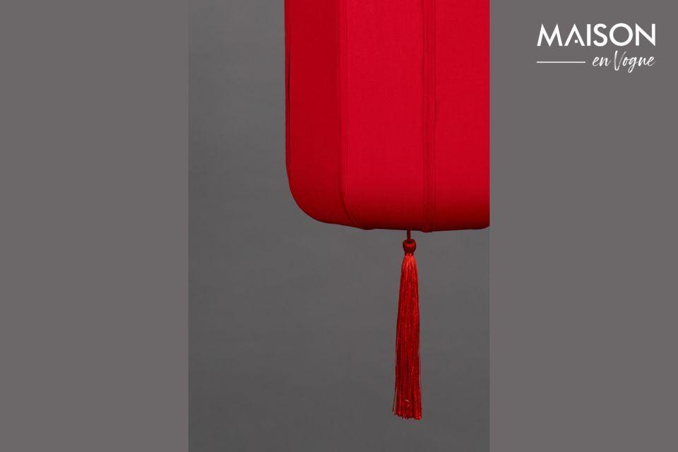 Un agradable toque exótico que recuerda a los antiguos faroles chinos