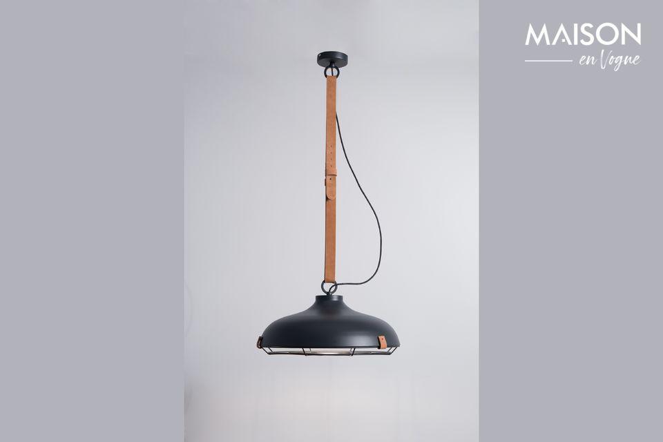 Colgante de lámpara Dek 51 Antracita Zuiver
