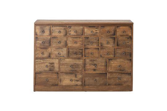 Cómoda Roilly de madera reciclada marrón