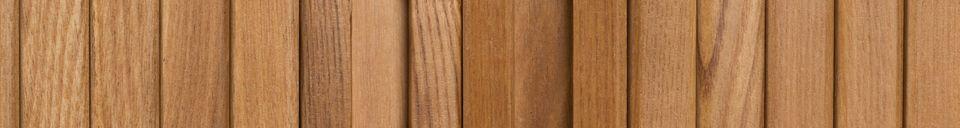 Descriptivo Materiales  Consola Barbier con acabado natural