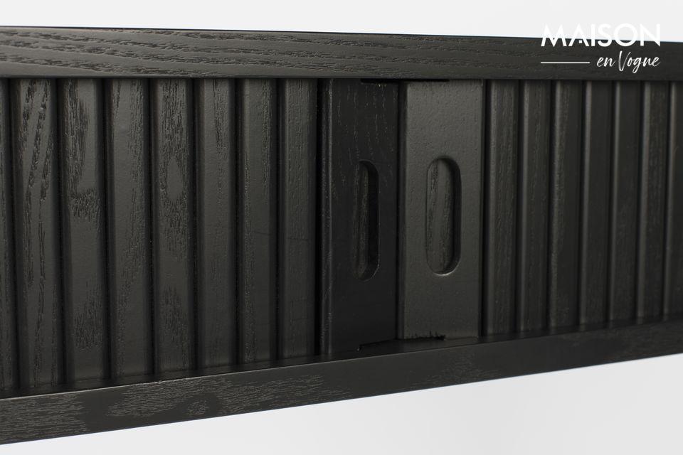 Consola Barbier con acabado negro - 5