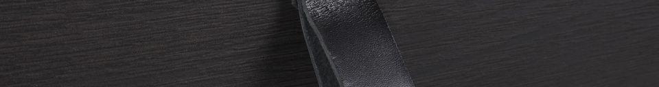 Descriptivo Materiales  Consola negra Tokio