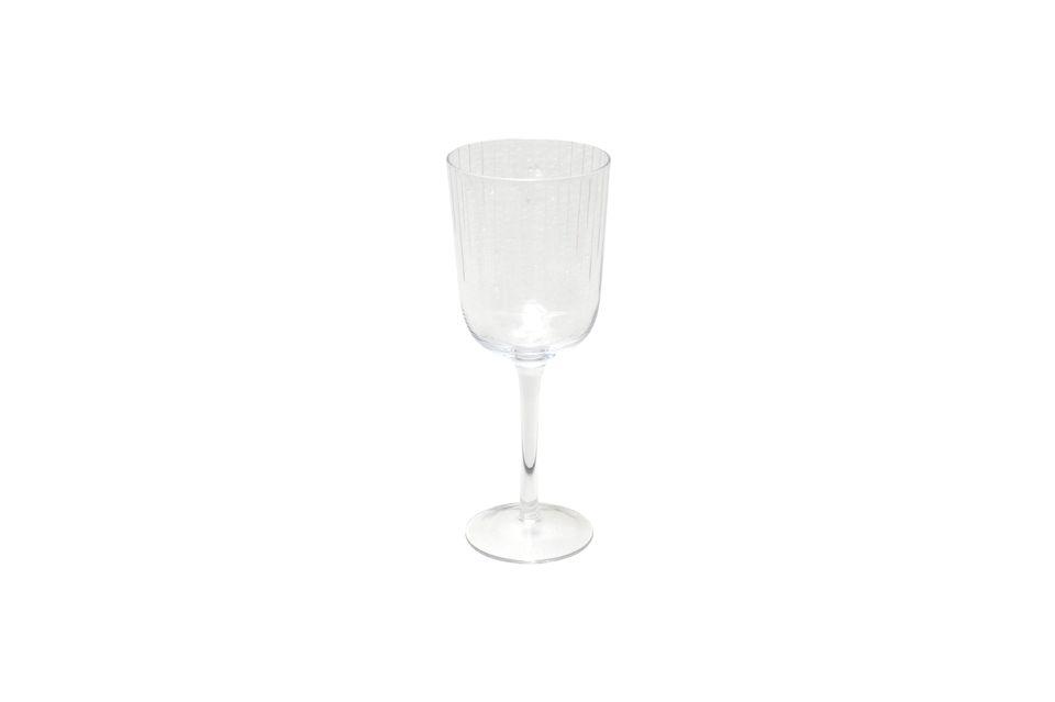 Elegante y transparente, encajará en cualquier mesa