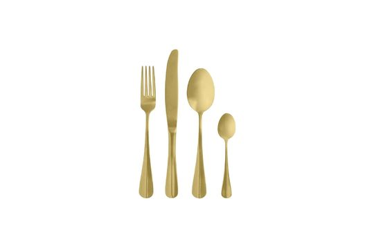 Cubiertos Gold