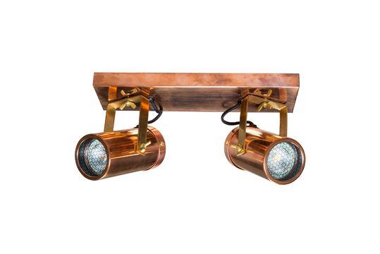 Doble Punto de luz Scope acabado de cobre