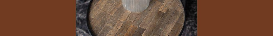 Descriptivo Materiales  Dúo de mesas de centro Tides