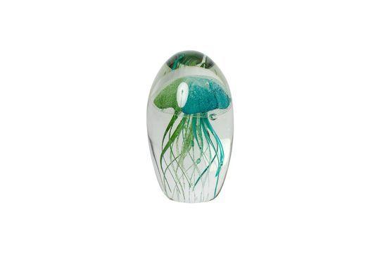 El sulfuro de medusa verde y azul Clipped