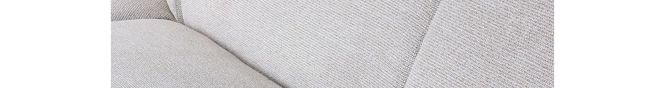Descriptivo Materiales  Elemento de esquina del sofá Jax