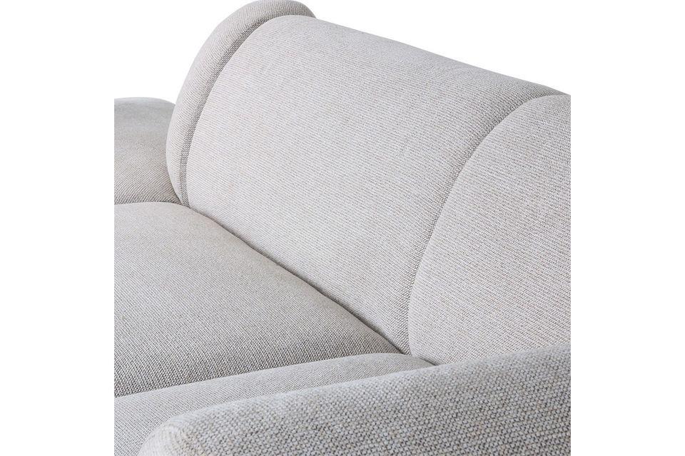 La gama de sofás Jax tiene la ingeniosa capacidad de ofrecer elementos modulares para construir la