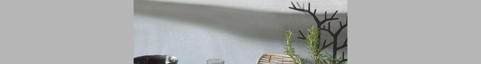 Descriptivo Materiales  Ensaladera negra Porcelino Experience