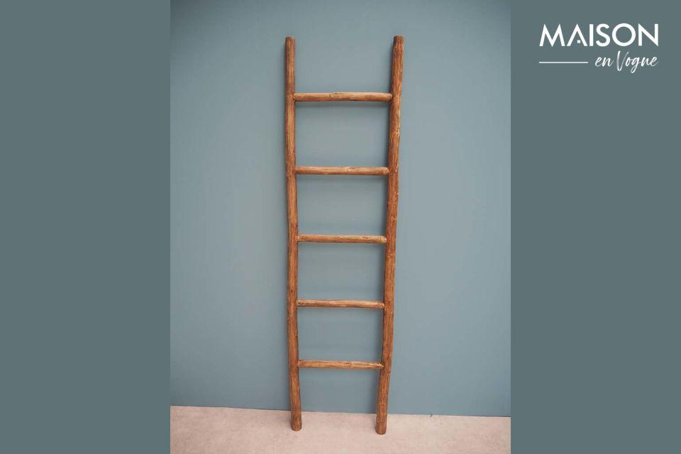 Escalera Anla de madera flotante Chehoma
