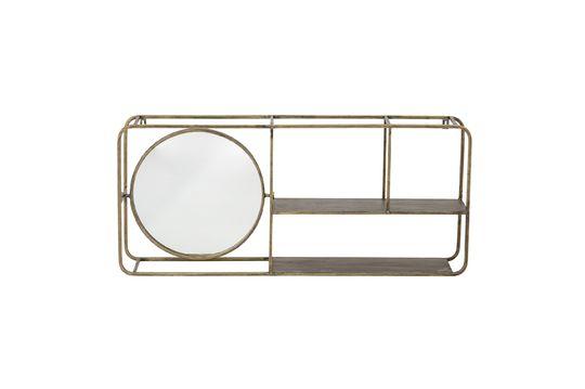 Espejo con estantes Rombly