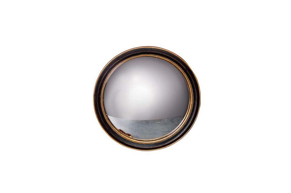 El espejo convexo Mirabeau de Chehoma le propone optar por la sobriedad con su espejo de resina
