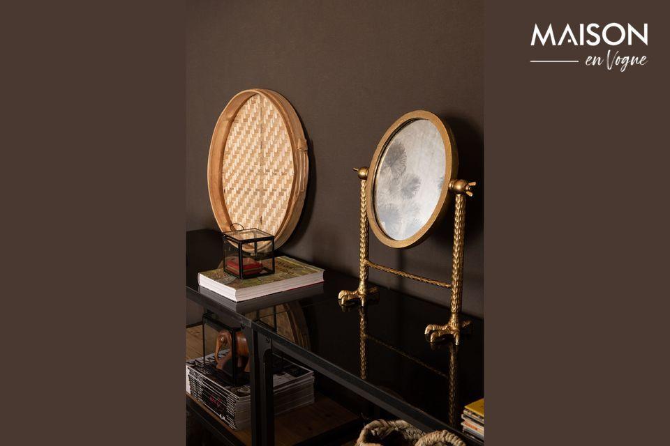 Un espejo funcional y artístico