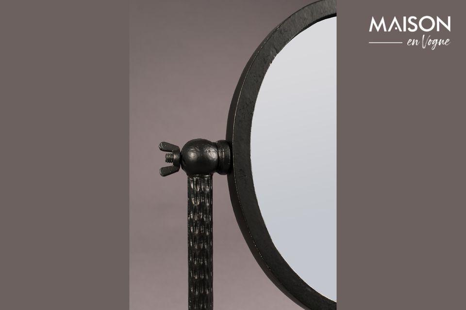 La elegancia de un espejo decorativo con un diseño inusual