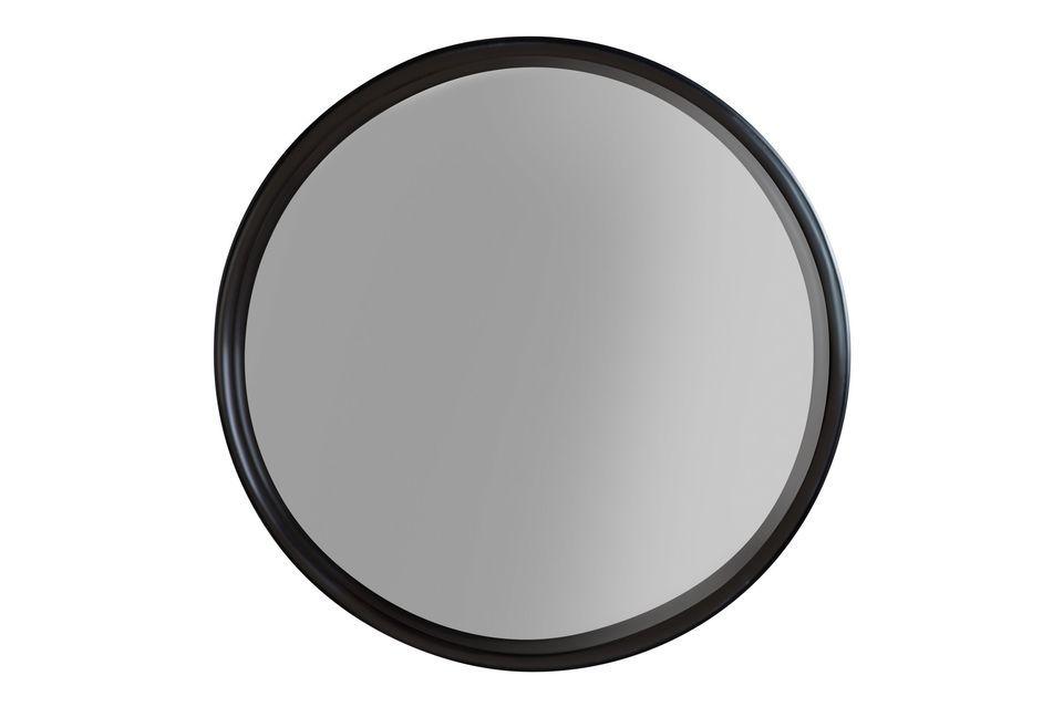 Insertado en un marco de acero pintado, está protegido de posibles roturas de cristal