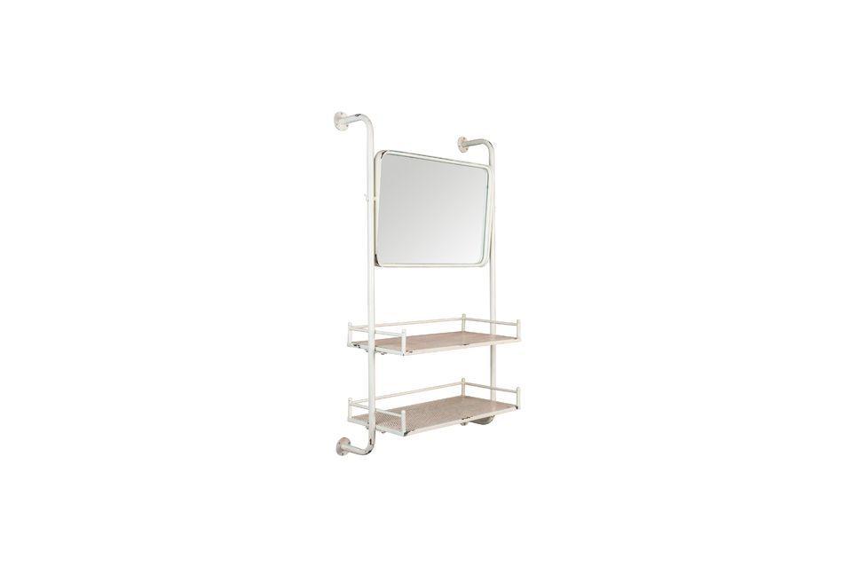 Estante y espejo de pared Barber - 8
