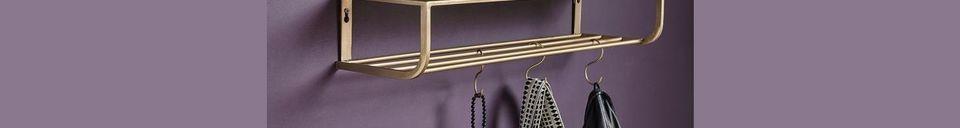 Descriptivo Materiales  Estantería de Metal Peri