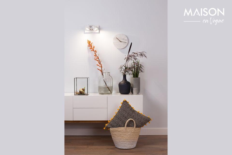 La iluminación es esencial en el diseño de interiores y el foco Luci-2 Dtw blanco lo demuestra